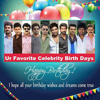 Tollywood Celebrities Birthdays List ( Top Celebs )