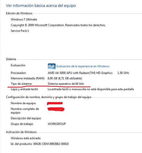 Windows Es De 32 O 64 Bits