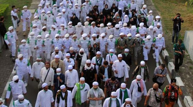 Kagum Lihat Massa Tumpah Ruah Sambut Habib Rizieq, Rektor UIC: Merinding!