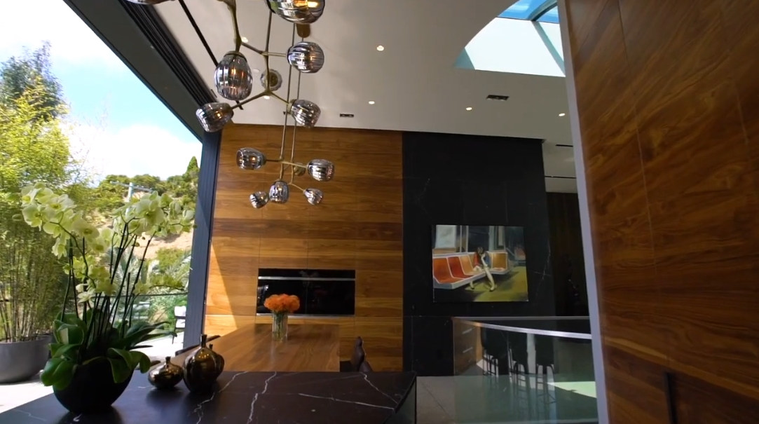 39 Interior Design Photos vs. Tour 8517 Franklin Ave, Los Angeles, CA Luxury Home