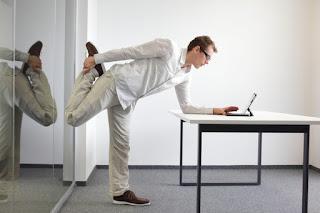 cara hidup sehat pekerja kantoran