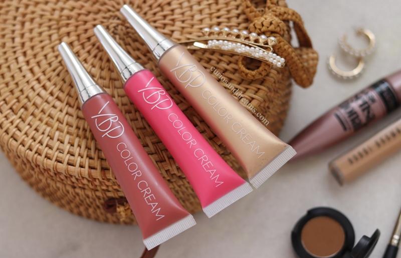 YBP Color Creams review, YBP Color Creams swatches