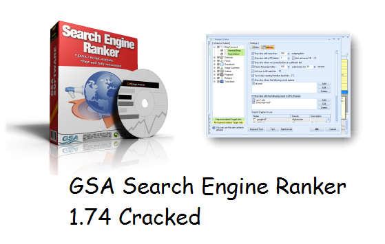 GSA Search Engine Ranker 1.74 Cracked Download