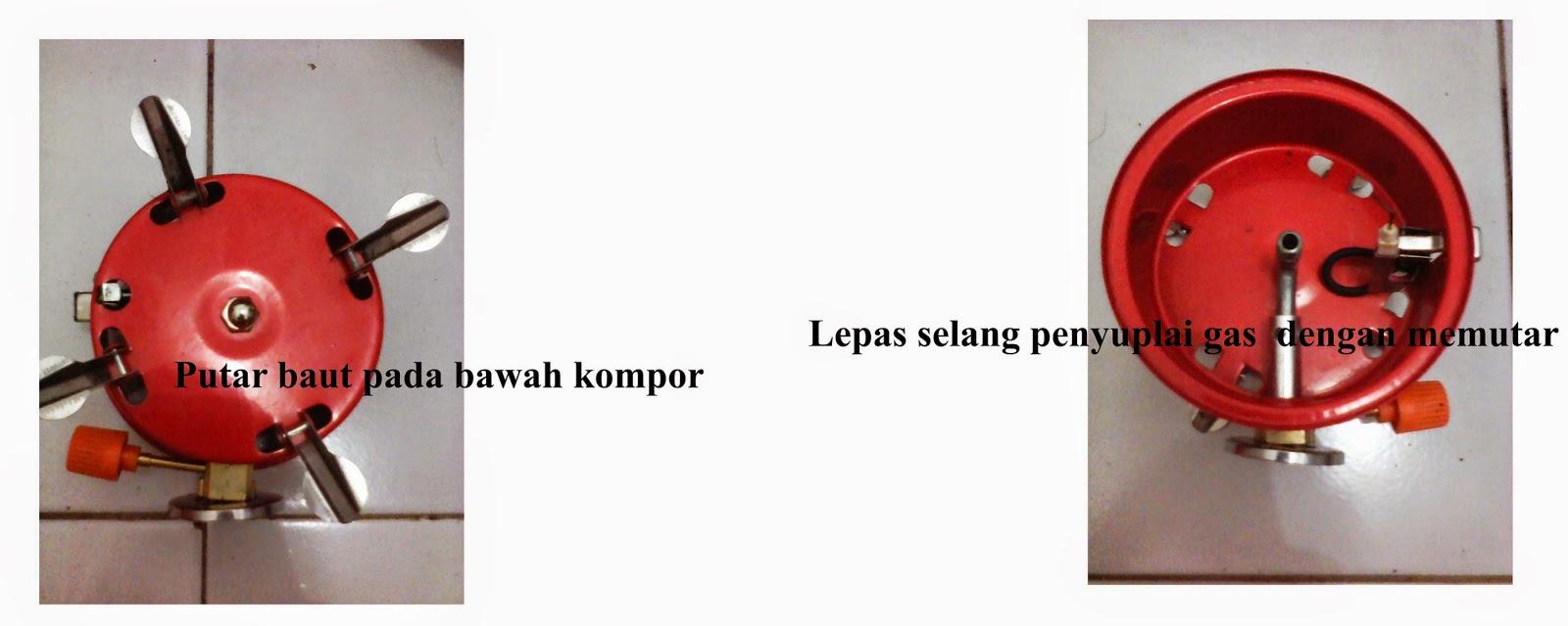 Pesona Indonesia Pendakian Gunung Dan Backpacking Cara Merawat Kompor Kembang Windproof Memperbaiki Lapangan Gas Atau Camping Stove