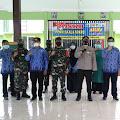 Polres Nganjuk Bersama Forkopimda Kunjungi Desa Sekaran Loceret , Pengecekan PPKM Mikro