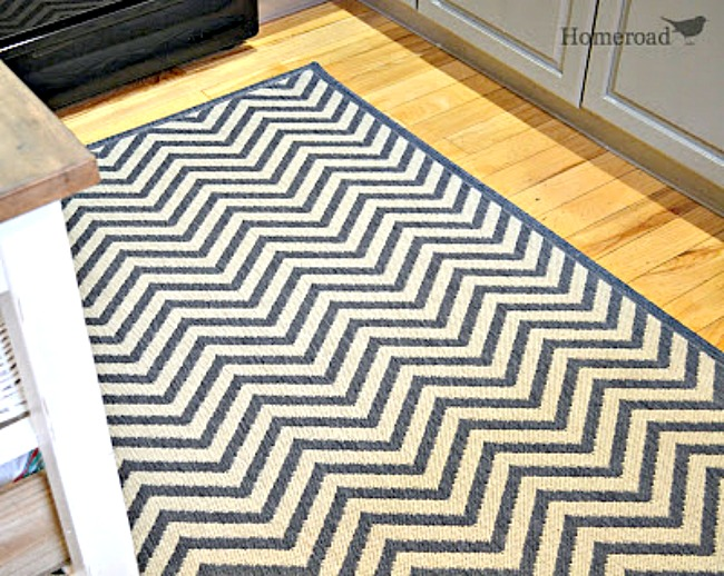 What is the best rug to use in the kitchen?