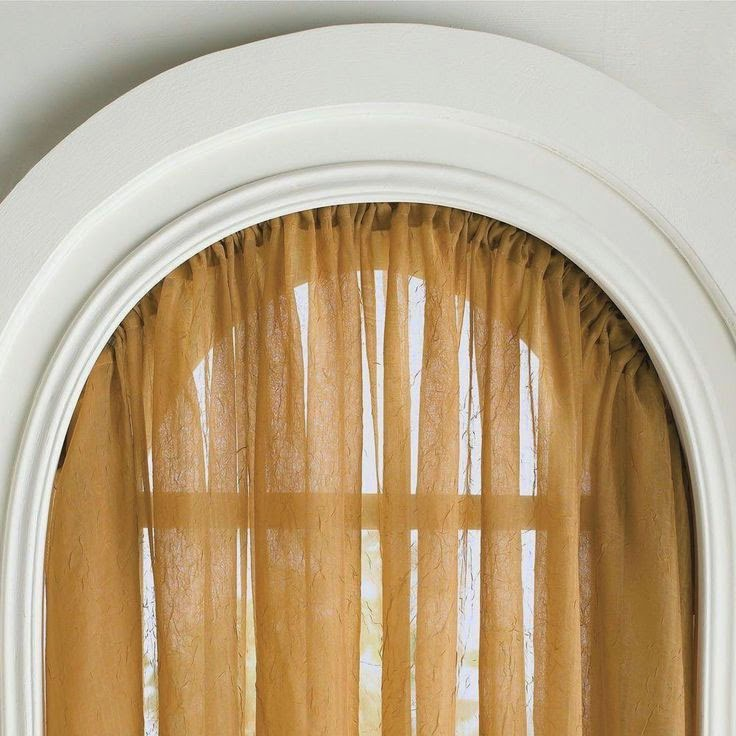 Curtain Ideas Bendable Curtain Rods For Arched Windows