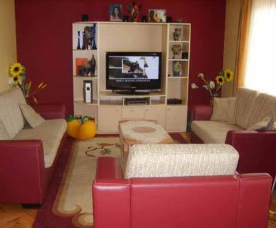 contoh ruang tamu di rumah sederhana
