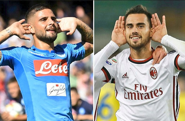 NAPOLI-MILAN Streaming: info YouTube Rojadirecta Facebook, dove vedere Diretta TV con PC Tablet iPhone
