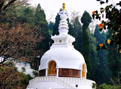 Japanese Peace Pagoda, first Peace Pagoda built by Nipponzan Myohoji