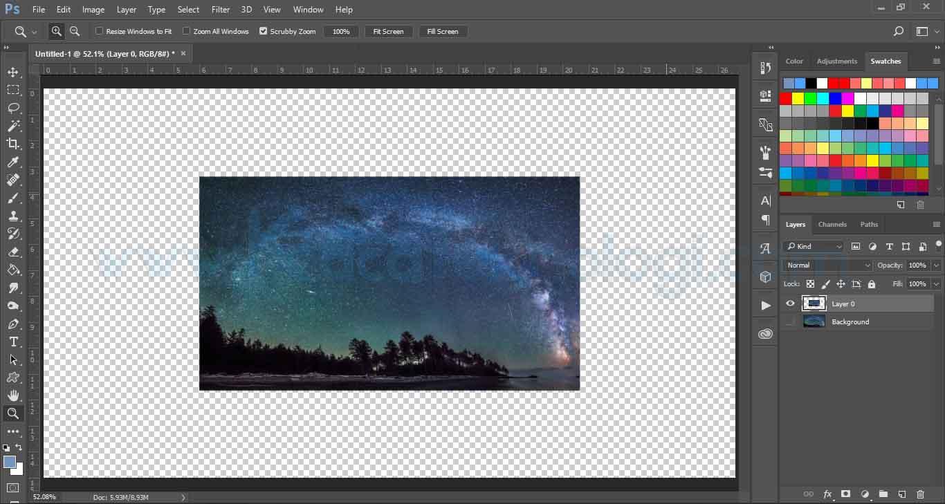 Cara Memperbesar Dan Mengecilkan Ukuran Gambar Di Photoshop Kaca Teknologi
