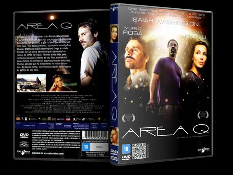 Capa DVD Área Q