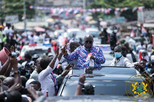 """Mahama Hasn't Changed, He's Still Has Nothing To Offer"" – President Akufo-Addo"