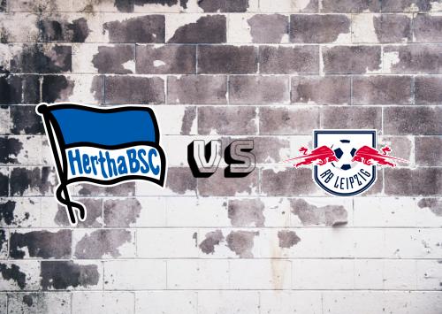 Hertha BSC vs RB Leipzig  Resumen