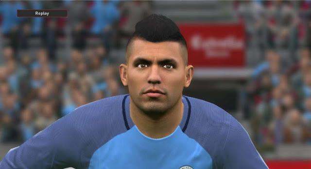 PES 2016 Sergio Agüero New Face