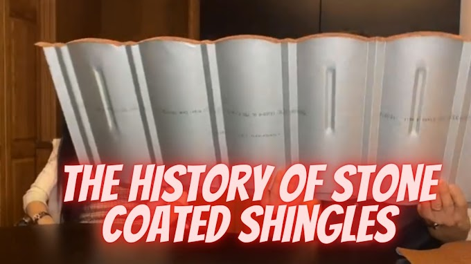 The History Of Stone Coated Shingles