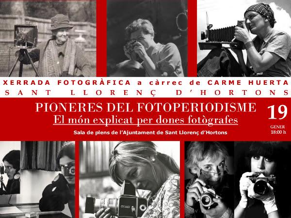 Esguard de Dona - Xerrada Pioneres del Fotoperiodisme. El món explicat per dones fotògrafes