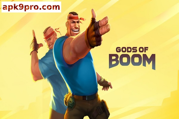 Guns of Boom v18.0.150 Apk + Mod (File size 117 MB) for android