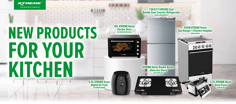 XTREME Appliances outs new stove, air fryer, refrigerator, and others for kitchen upgrade