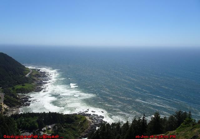 Cape Perpetua Headland viewpoint
