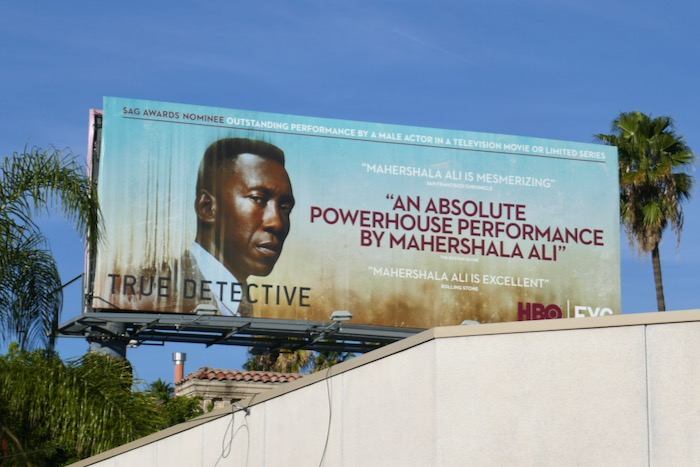 Mahershala Ali True Detective season 3 SAG Awards billboard