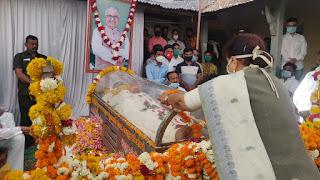 शाहपुर में नन्दू भैया के अंतिम दर्शन हेतु मुख्यमंत्री सहित 8 मंत्री आये