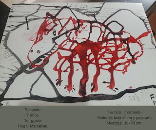Dibujo realizado por alumno de 7 años