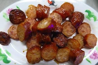Yaowarat Thai Kway Chap - fish sausage