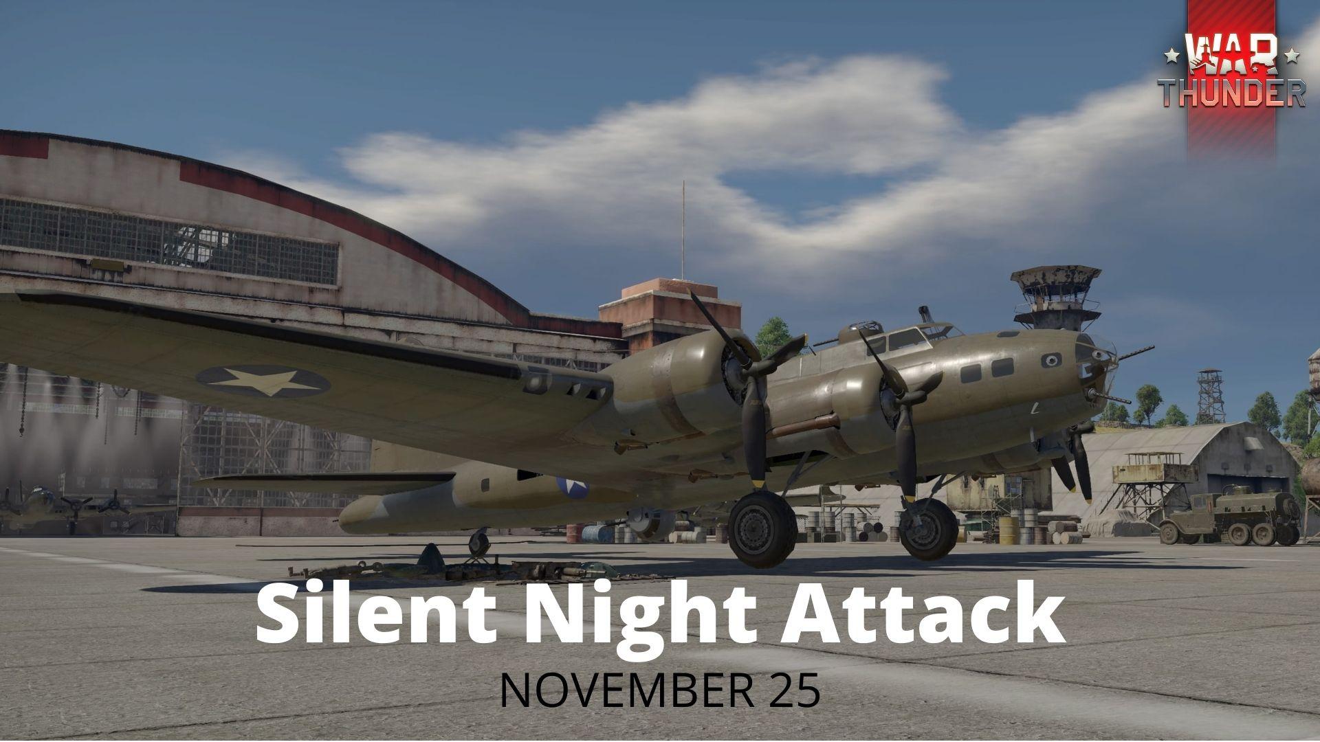 Silent Night Attack - War Thunder Movie