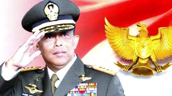 Innalillahi, Mantan Panglima TNI Djoko Santoso Meninggal Dunia, TNI AD Kibarkan Bendera Setengah Tiang