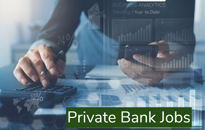 Private Bank Jobs recruitment Notifications