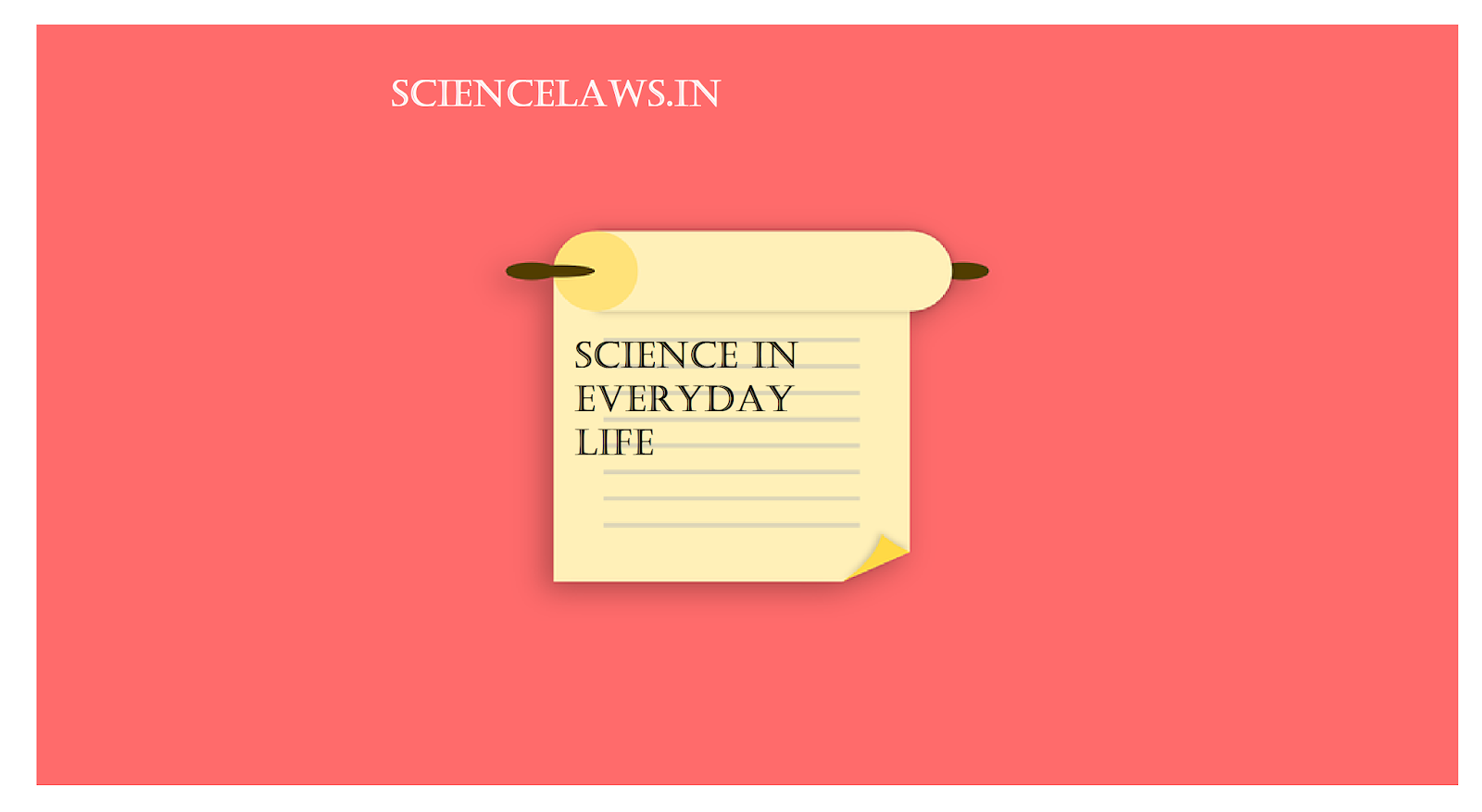 Science in daily life essay