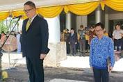 Sekda Minsel Irup HUT Ke 17 Wakili Bupati Tetty Paruntu