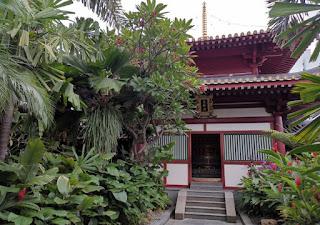 Templo y Museo de la Reliquia del Diente de Buda o Buddha Tooth Relic Temple and Museum, Chinatown, Singapur o Singapore.