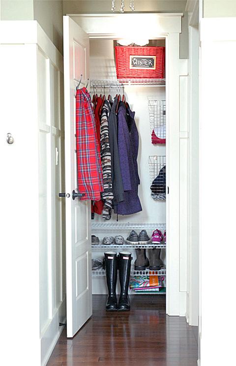 Iheart Organizing Uheart Organizing An Organized Coat Closet