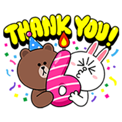 LINE's 6th Thankiversary