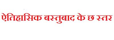 historical materialism in Hindi, eitihasik bastubad, karl marx theory