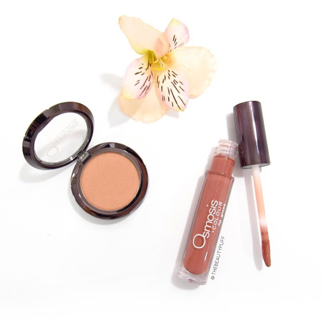 osmosis colour blush lip gloss - the beauty puff