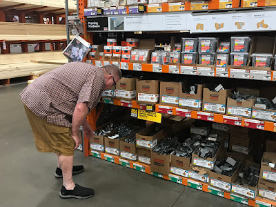 Home Depot Shopping for Boat Dock Material