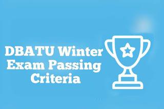 DBATU Online Winter Exam Passing Criteria