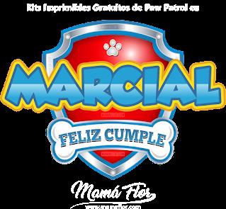 Logo de Paw Patrol: MARCIAL