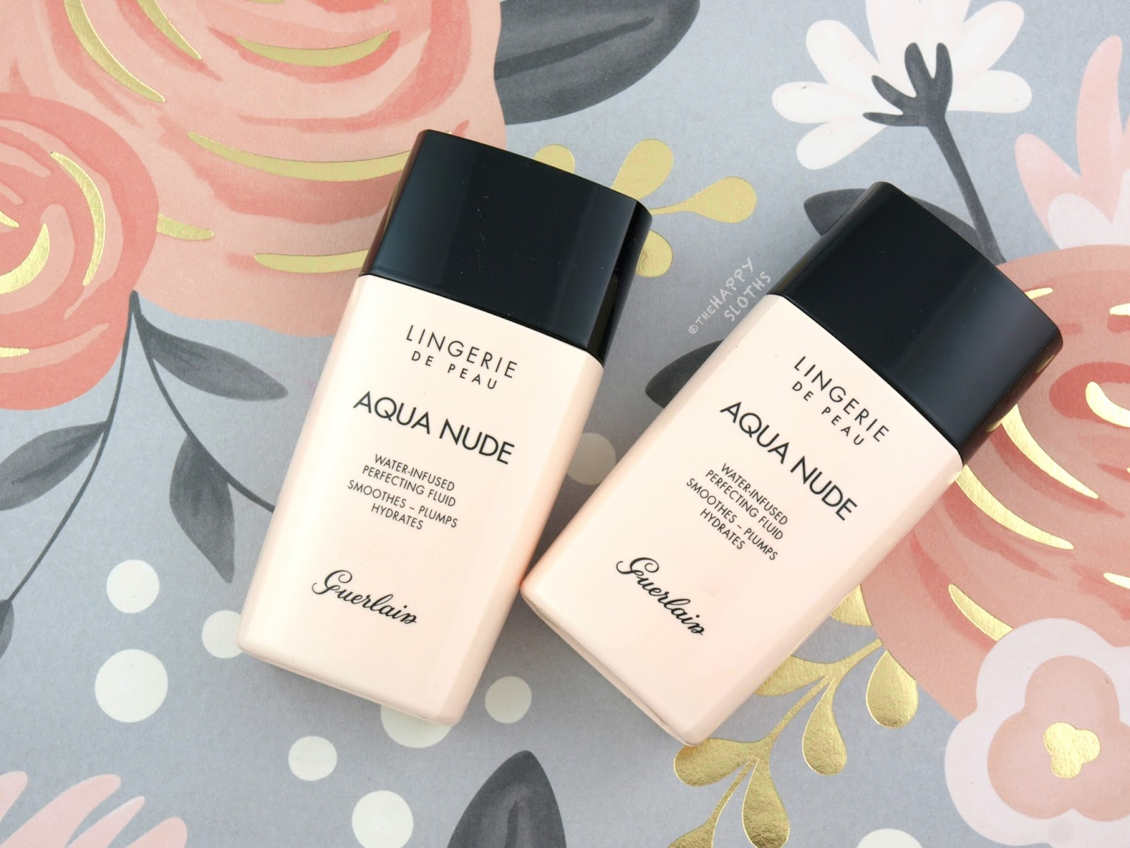 Guerlain Lingerie de Peau Aqua Nude Foundation: Review and Swatches