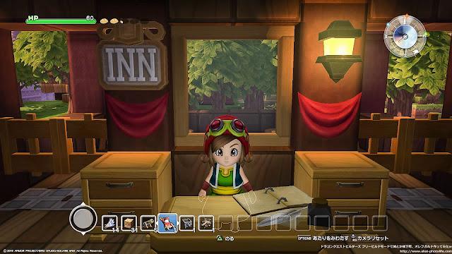 dragonquest builders 森の宿屋 フリービルドモード 「もりの やどやへ ようこそ。 ひとばん 5ゴールドですが おとまりになりますか?」