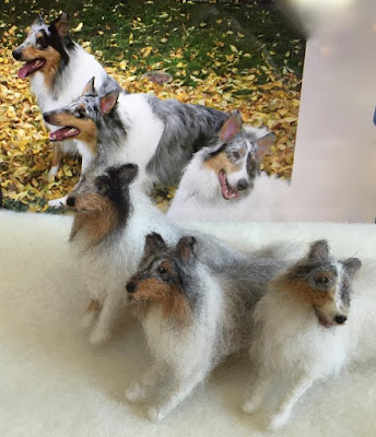 wool dog pet memorial