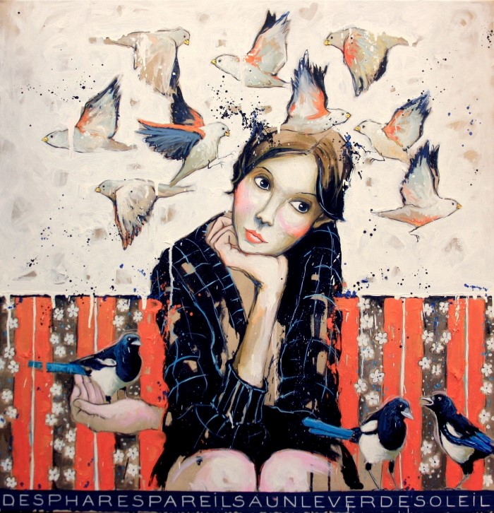 Французский художник. Catherine Cornec