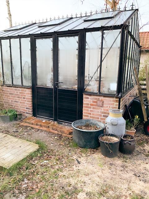 Växthuset i vintervila