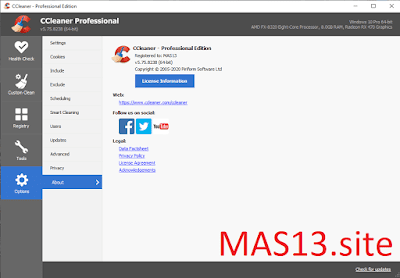 Download CCleaner Pro 5.75 Final Terbaru Full Patch