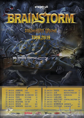 Brainstorm Midnight Ghost 2018 DVD R1 NTSC VO