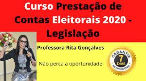 Curso Online de Prestação de Contas Eleitorais 2020 - Legislação