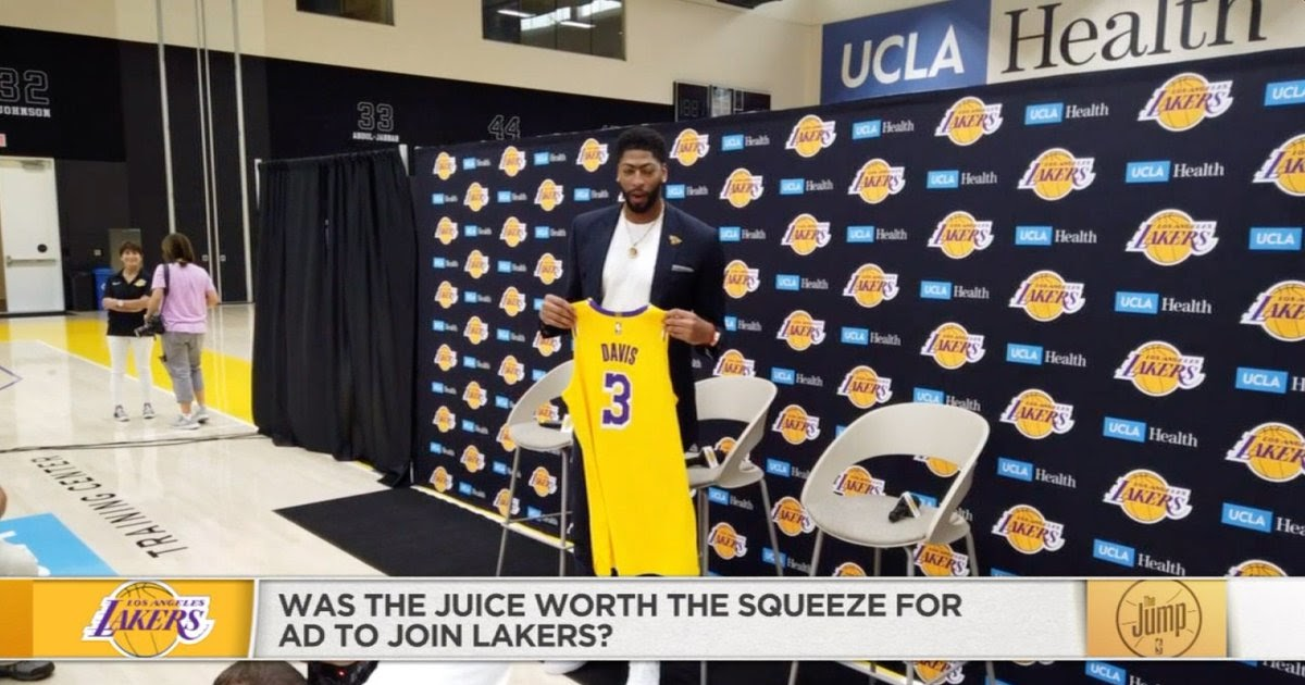 Anthony Davis noncommittal on being a Laker past this season